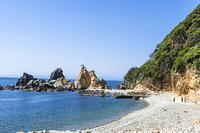 南伊豆波勝崎の海岸