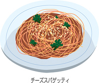 チーズスパゲッティ