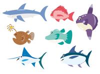 海の魚7種