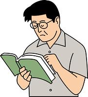 本を読んで考える50代男性