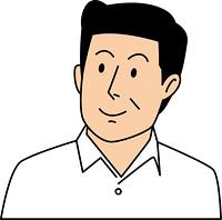 真面目な表情の50代ビジネスマン
