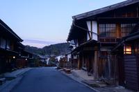 木曽 妻籠宿の町並み