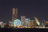 横浜 みなとみらいの夜景