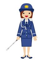 警察官 - 働く女性