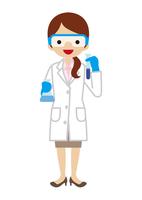 科学者 - 働く女性