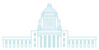 国会議事堂 - 線画