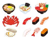 北海道の料理と食材