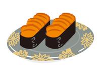 寿司 ウニ 一皿