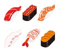 寿司 六貫セット