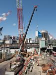 渋谷駅前の再開発工事
