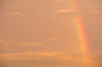 茜空と虹、Akanesora and rainbow,