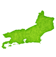リオデジャネイロ 地図 緑 アイコン