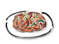 ナポリタンスパゲティ
