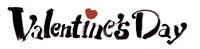 ValentinesDay 文字
