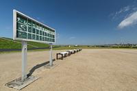 河川敷の野球場