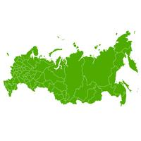 ロシア 地図 国 アイコン
