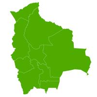 ボリビア 地図 国 アイコン