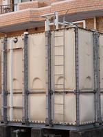 マンションの貯水槽