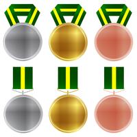 ブラジル メダル オリンピック アイコン