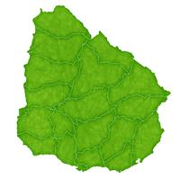 ウルグアイ 地図 国 アイコン