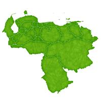 ベネズエラ 地図 国 アイコン