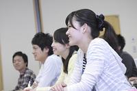 授業を受ける学生たちの横顔