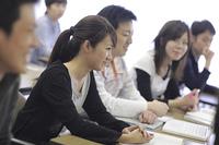 講義を受ける学生たち