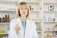 Female pharmacist portrait