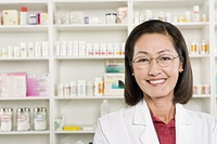Female pharmacist portrait