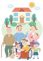 家族とマイホーム