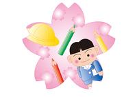 入学 桜の季節
