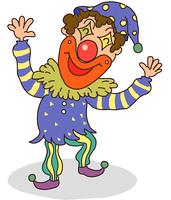 Close-up of clown