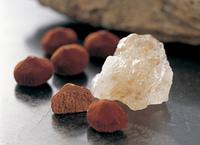 岩塩と焼チョコレート