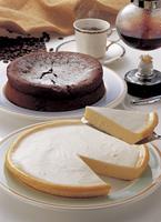 ガトーショコラとレアチーズケーキ