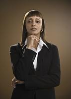 Portrait of African businesswoman