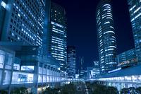 品川駅周辺の夜景