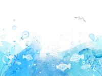 水彩画のよう背景