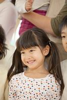 笑顔の保育園女児