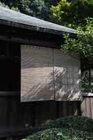 日本家屋のすだれ