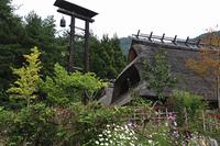 古民家と火の見櫓