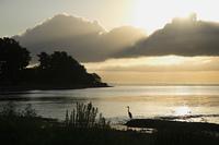 琵琶湖今津の夜明け