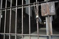 網走刑務所の鉄錠門