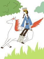 スーホーの白い馬