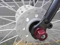 自転車のハブ