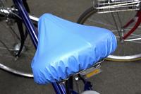 自転車のサドルの防水カバー