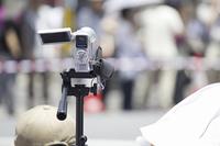 ムービーカメラで撮影する風景