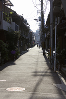 昼下がりの下町の風景