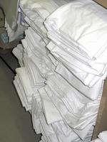 洗濯する予定のバスタオル