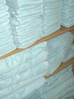 洗濯したバスタオル