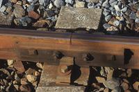 鉄道のレールの継ぎ目
